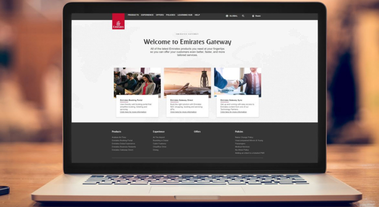 Emirates Gateway Laptop mit Screenshot Foto Emirates Gateway.jpg