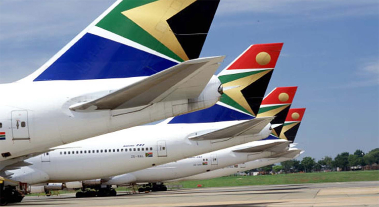 South African Airways Leitwerke