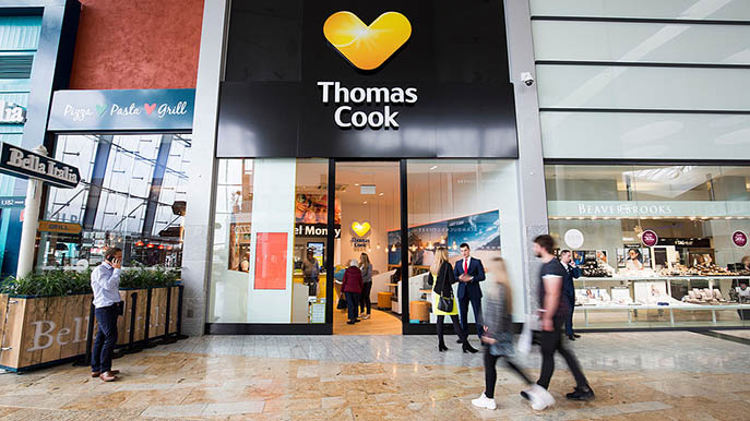Thomas Cook Reisebüro Glasgow
